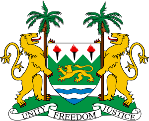 Coat of Arm Sierra Leone