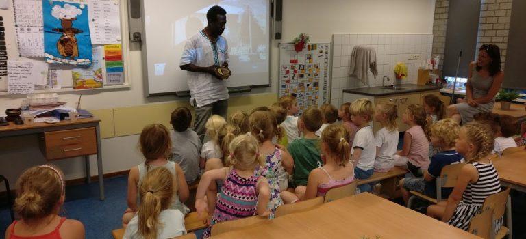 Juni 2017 Bezoek aan Basisschool de Speurneus in Landgraaf